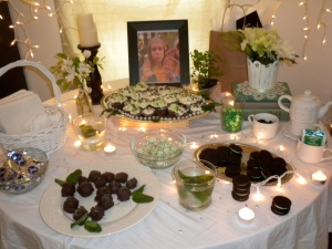 Mint Party Table