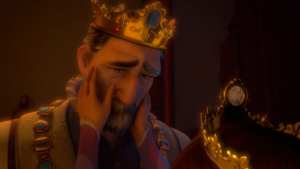 The King Cries for His Lost Child