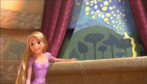 Rapunzel's painting of the Lights