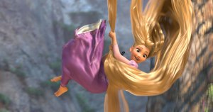 Rapunzel's first taste of freedom