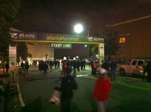 Atlanta Marathon Start Line