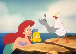 Scuttle and Ariel: The Dinglehopper