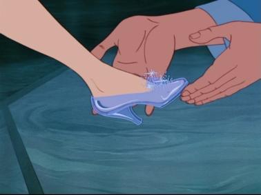 cinderella shoe fits